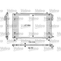 Kondensator, Klimaanlage | VALEO (817283)