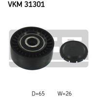 Geleide rol/omdraairol v-snaren SKF, 65 mm