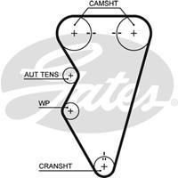 Zahnriemen 'PowerGrip' | GATES (5497XS)