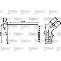VALEO Wärmetauscher 812005 Plattenwärmetauscher,Heizungskühler PEUGEOT,CITROËN,306 Schrägheck 7A, 7C, N3, N5,306 Cabriolet 7D, N3, N5