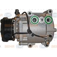 HELLA Kompressor 8FK 351 113-901 Klimakompressor,Klimaanlage Kompressor FORD,MONDEO III Kombi BWY,MONDEO III B5Y,TRANSIT MK-7 Kasten