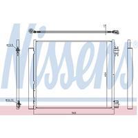 Kondensator, Klimaanlage | NISSENS (940546)