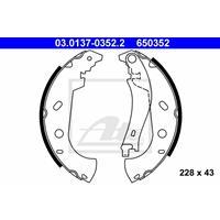 Bremsbackensatz | f.becker_line (108 10033)