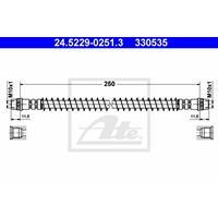 ATE Bremsschläuche 24.5229-0251.3 Bremsschlauch FIAT,PEUGEOT,CITROËN,ULYSSE 179AX,ULYSSE 220,SCUDO Kasten 220L,SCUDO Combinato 220P