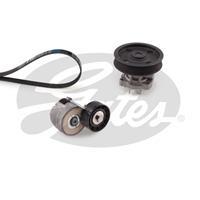 Wasserpumpe + Keilrippenriemensatz 'Micro-V Kit' | GATES (KP16PK1310)