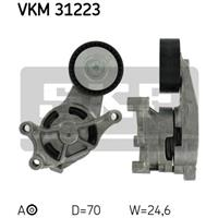 SKF Spannrolle VKM 31223 Spannrolle, Keilrippenriemen VW,AUDI,SKODA,GOLF V 1K1,GOLF VI 5K1,PASSAT Variant 3C5,PASSAT 3C2,GOLF V Variant 1K5