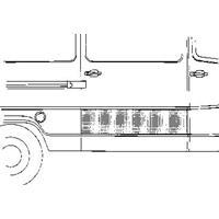 mercedes-benz Plaatwerkdeel Edes L207d407d.drpl Laadd