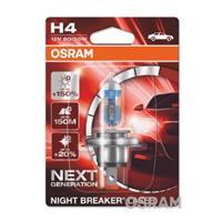 NIGHT BREAKER LASER next generation OSRAM, H4, 12 V