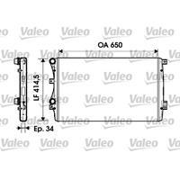 Kühler, Motorkühlung | Valeo (732872)