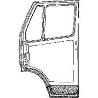 mercedes-benz Plaatwerkdeel .l207d/407d.onderk.deur 2