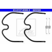 Zubehörsatz, Bremsbacken | f.becker_line (109 10057)