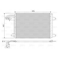 Kondensator, Klimaanlage | Valeo (817777)