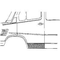 mercedes-benz Plaatwerkdeel Mercedes L207d 407d.deurplaat
