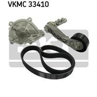 Wasserpumpe + Keilrippenriemensatz | SKF (VKMC 33410)