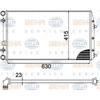 Kühler, Motorkühlung | MAHLE (CR 505 000S)