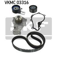 Wasserpumpe + Zahnriemensatz | SKF (VKMC 03316)