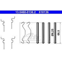 Zubehörsatz, Scheibenbremsbelag | ATE (13.0460-0136.2)