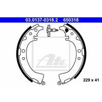 ATE Bremsbacken 03.0137-0318.2 Trommelbremsbacken,Bremsbackensatz TOYOTA,RAV 4 II CLA2_, XA2_, ZCA2_, ACA2_,RAV 4 I SXA1_,RAV 4  SXA1_