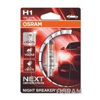 Osram Auto Halogen Leuchtmittel Night Breaker Laser Next Generation H1 55W 12V D907511