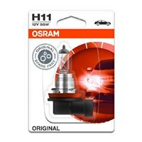 Gloeilamp H11 Original 55W [12V] (1 st.) OSRAM, H11, 12 V