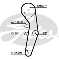 Zahnriemen 'PowerGrip' | GATES (5569XS)