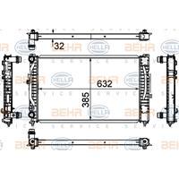 Kühler, Motorkühlung | MAHLE (CR 647 000S)