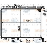 Kühler, Motorkühlung   MAHLE (CR 515 000S)