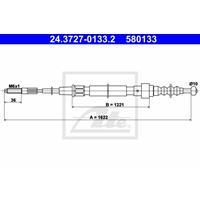 Seilzug, Feststellbremse | f.becker_line (117 10114)
