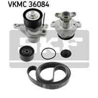 Wasserpumpe + Keilrippenriemensatz | SKF (VKMC 36084)