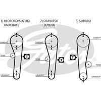 GATES Zahnriemen 5043 Steuerriemen TOYOTA,SUZUKI,SUBARU,COROLLA Coupe AE86,CELICA Liftback ST16_, AT16_,COROLLA Liftback _E8_