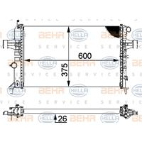 Kühler, Motorkühlung | MAHLE (CR 227 000S)