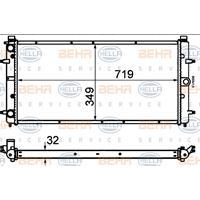 Kühler, Motorkühlung   MAHLE (CR 398 000S)