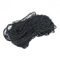 Jumbo elastisch aanhangernet 195 x 140 cm nylon zwart