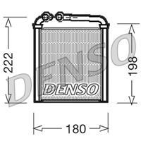 Wärmetauscher, Innenraumheizung | DENSO (DRR32005)