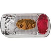 Fristom MD-036 P B 90445 Aanhangerachterlicht Achteruitrijlicht, Achterlicht, Kentekenverlichting, Remlicht, Mistachterlicht, Knipperlicht Achter, Rechts 12 V,