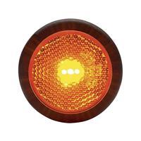 WAS LED-Begrenzungsleuchte orange 95679 Markeringslicht Markeringslicht, Reflector, Achterlicht Achter 12 V, 24 V Oranje
