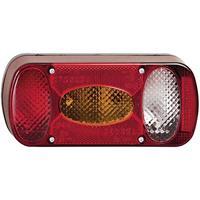 Fristom MD-036 P 90447 Achterlicht voor fietsendrager Achteruitrijlicht, Achterlicht, Kentekenverlichting, Mistachterlicht, Knipperlicht, Remlicht Achter,