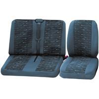 Cartrend 79-4020-01 Sitzbezug 4teilig Grau Fahrersitz, Doppelsitz C33136