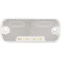 Secorüt SecoRüt LED Seitenmarkierugsleuchte weià 90906 Markeringslicht Markeringslicht Voor 12 V, 24 V Wit