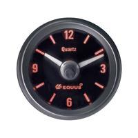 Equus656789Inbouwmeter(auto)Quarzklokanaloog4LEDsBlauw,Groen,Geel,Rood52mm