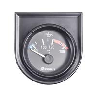 Equus 842109 Inbouwmeter (auto) Water-/olietemperatuurweergave Meetbereik 60 - 160 °C Standart Geel, Rood, Groen 52 mm