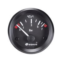 Equus842095Inbouwmeter(auto)OliedrukweergaveMeetbereik0-7barStandartGeel,Rood,Groen52mm