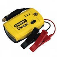 Stanley Acculader 6-12 Volt 5 Ampere Geel