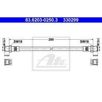 ATE Bremsschläuche 83.6203-0250.3 Bremsschlauch