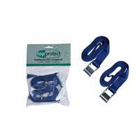 LoadLok 14002604 Spanband met klemgesp - Blauw - 2,5 x 25mm