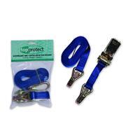 LoadLok 14002607 Spanband met ratelgesp - Blauw - 5 x 25mm