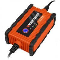 Black & Decker Acculader 6/12 Volt 2 Ampere Oranje/zwart