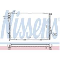 Kühler, Motorkühlung | NISSENS (60648)