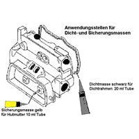 Volkswagen Complete pakkingsset, motor