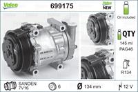 Compressor, airconditioning Valeo, 145, ml, 12 V